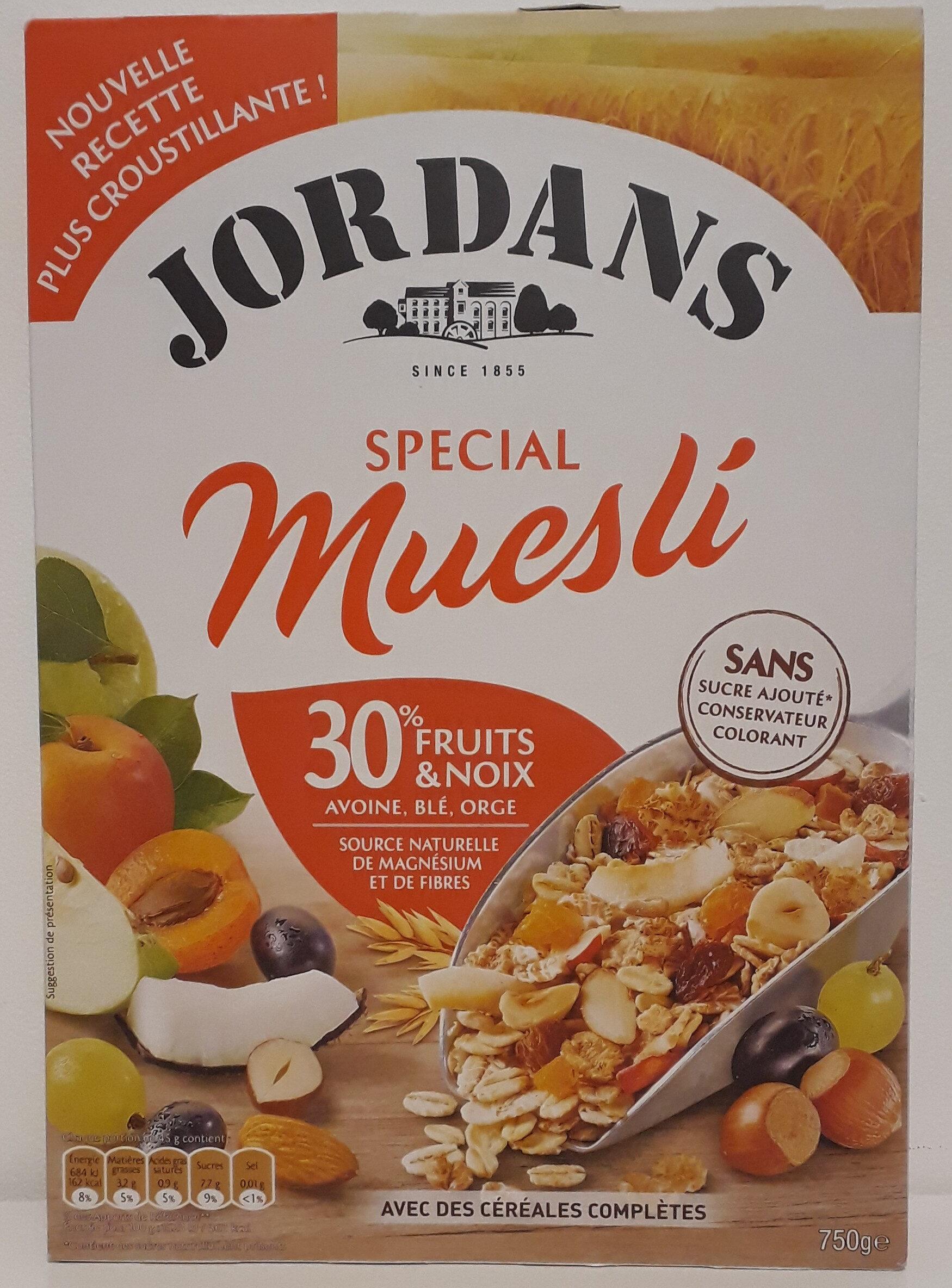 Special Muesli 30% fruits & noix céréales complètes - Product - fr