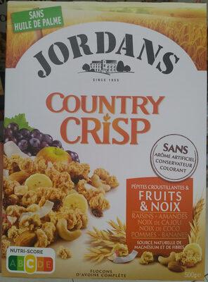 Country Crisp Fruits & Noix - Produit - fr