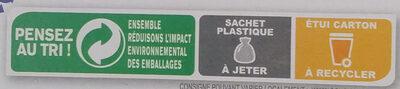 Country Crisp Fruits & Noix - Istruzioni per il riciclaggio e/o informazioni sull'imballaggio - fr