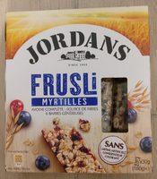 Frusli Myrtilles - Avoines complète - Source de fibres 6 barres généreuses - Produit - fr