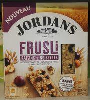 Frusli Raisins & Noisettes - Product