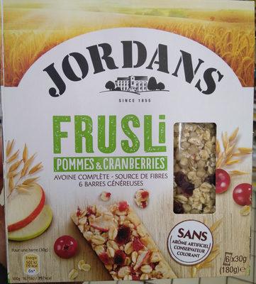 Frusli Pommes & Cranberries - Product - fr
