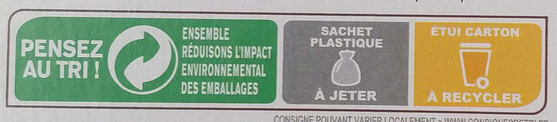 Frusli Pommes & Cranberries - Instruction de recyclage et/ou informations d'emballage - fr