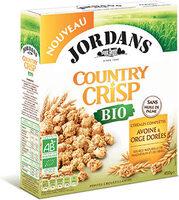 Country Crisp Bio -  Avoine & orge dorée - Produit - fr