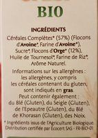 Country crisp Avoine et Orge Dorée BIO - Ingrédients - fr