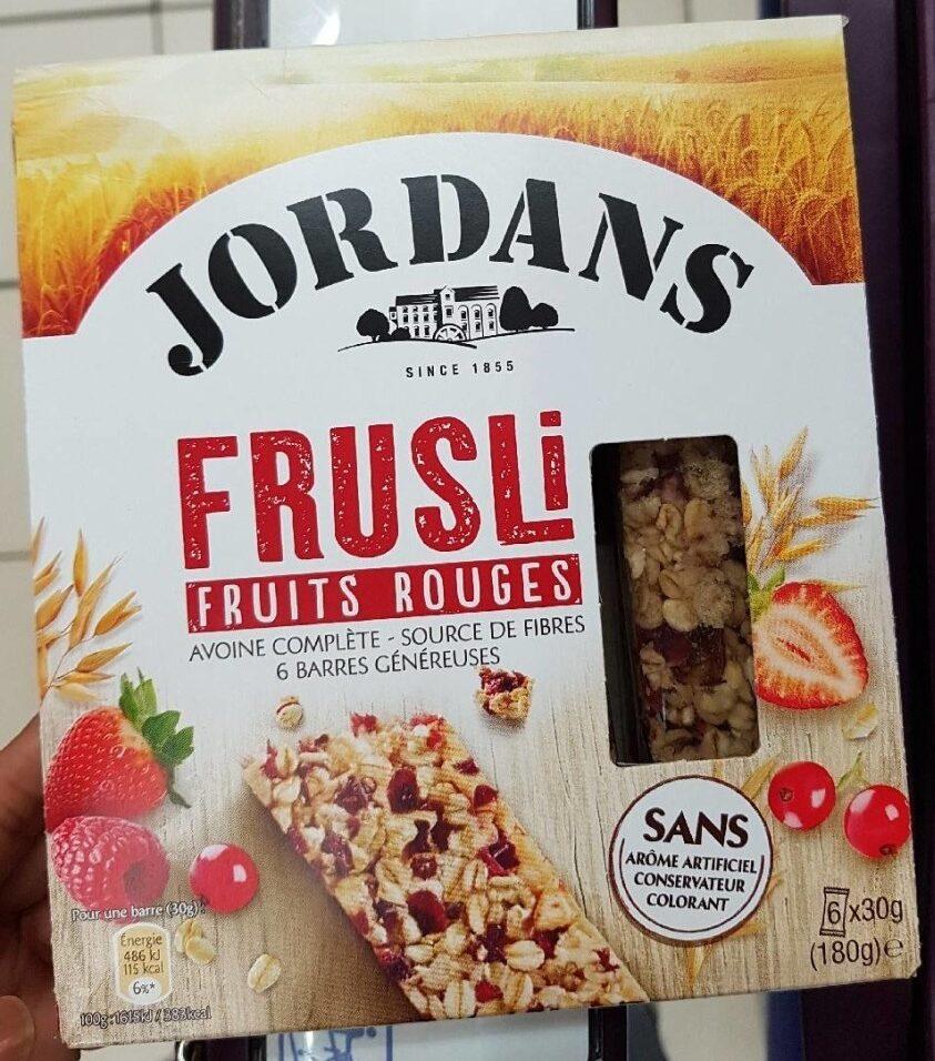 Frusli barres céréales - Produit - fr