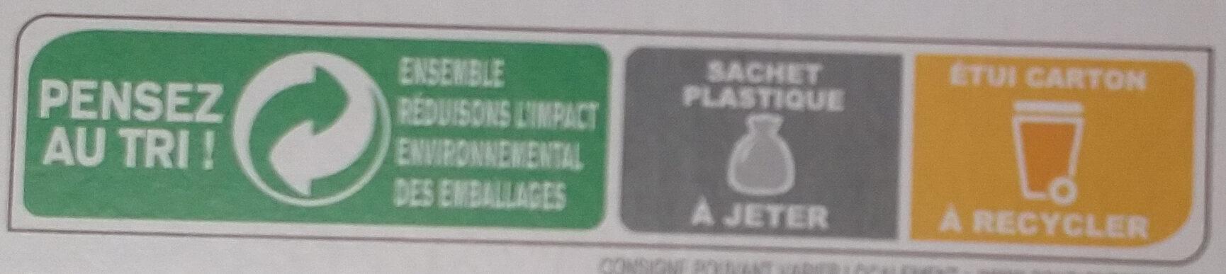 Frusli fruits rouges - Istruzioni per il riciclaggio e/o informazioni sull'imballaggio - fr