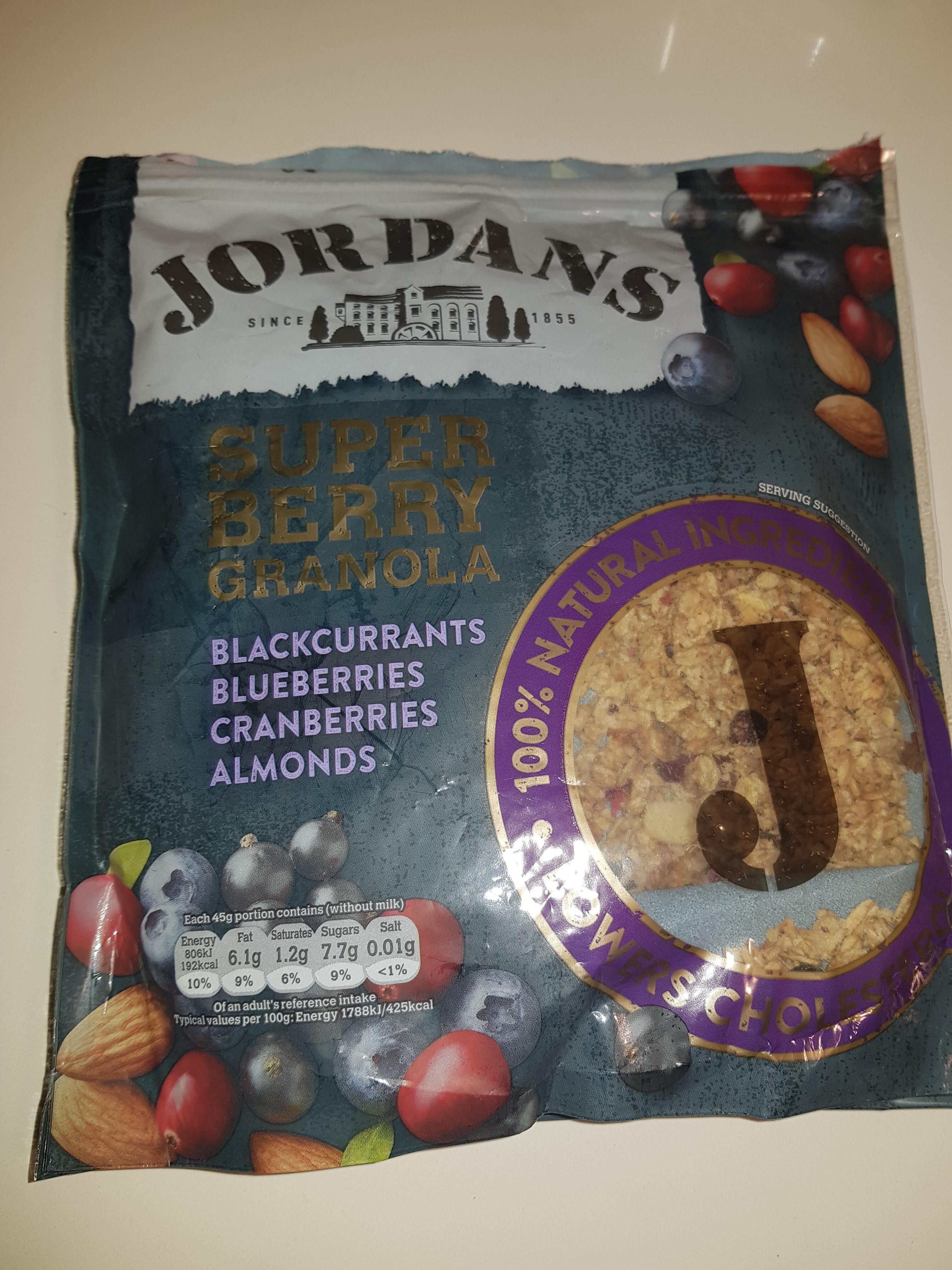 Jordans Superberry Granola - Producto - en