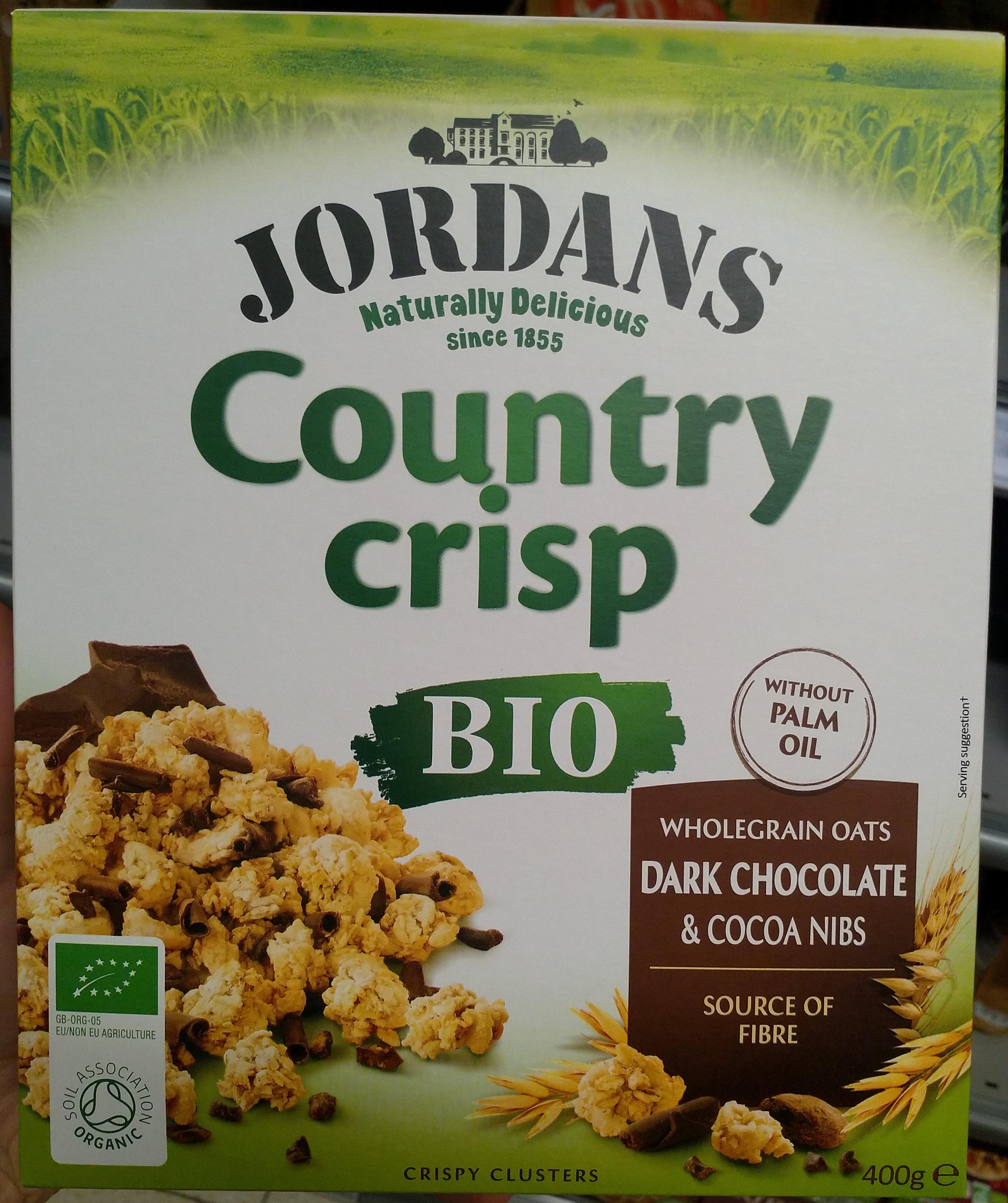 Country Crisp - Dark Chocolate & Cocoa Nibs - Produit - fr