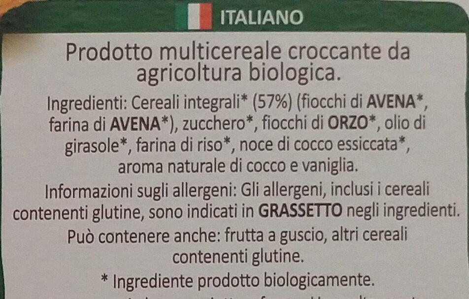 Country crisp bio - Ingredienti - it
