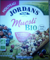 Muesli Bio Superfruits & Graines - Produit