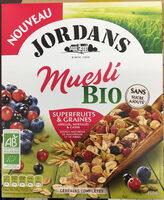 Muesli Bio Superfruits & Graines - Product - fr