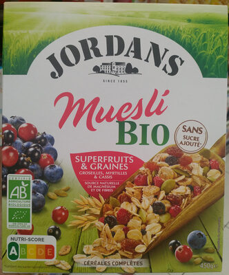 Muesli Bio Superfruits & Graines - Product - fr