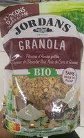 Granola - Flocons d'Avoine grillés aux copeaux de chocolat noir, noix de coco et graines - Produit - fr