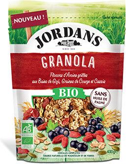 Granola Baies de goji, Graines de courge & Cassis - Produit - fr
