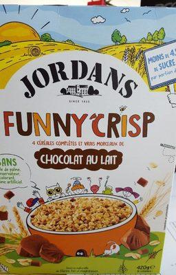 Funny Crisp Chocolat au Lait - Produit - fr