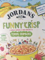 Funny Crisp Pomme Framboise - Produit - fr