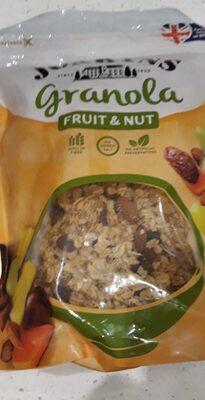 Granola fruit and nut - Produit - fr
