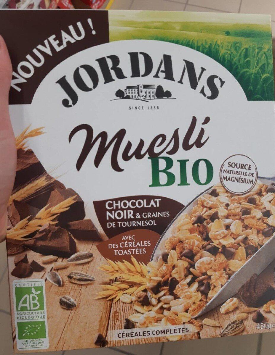 Muesli bio chocolat noir - Produit - fr