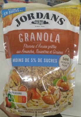 Granola amandes noisettes et graines - Produit - fr