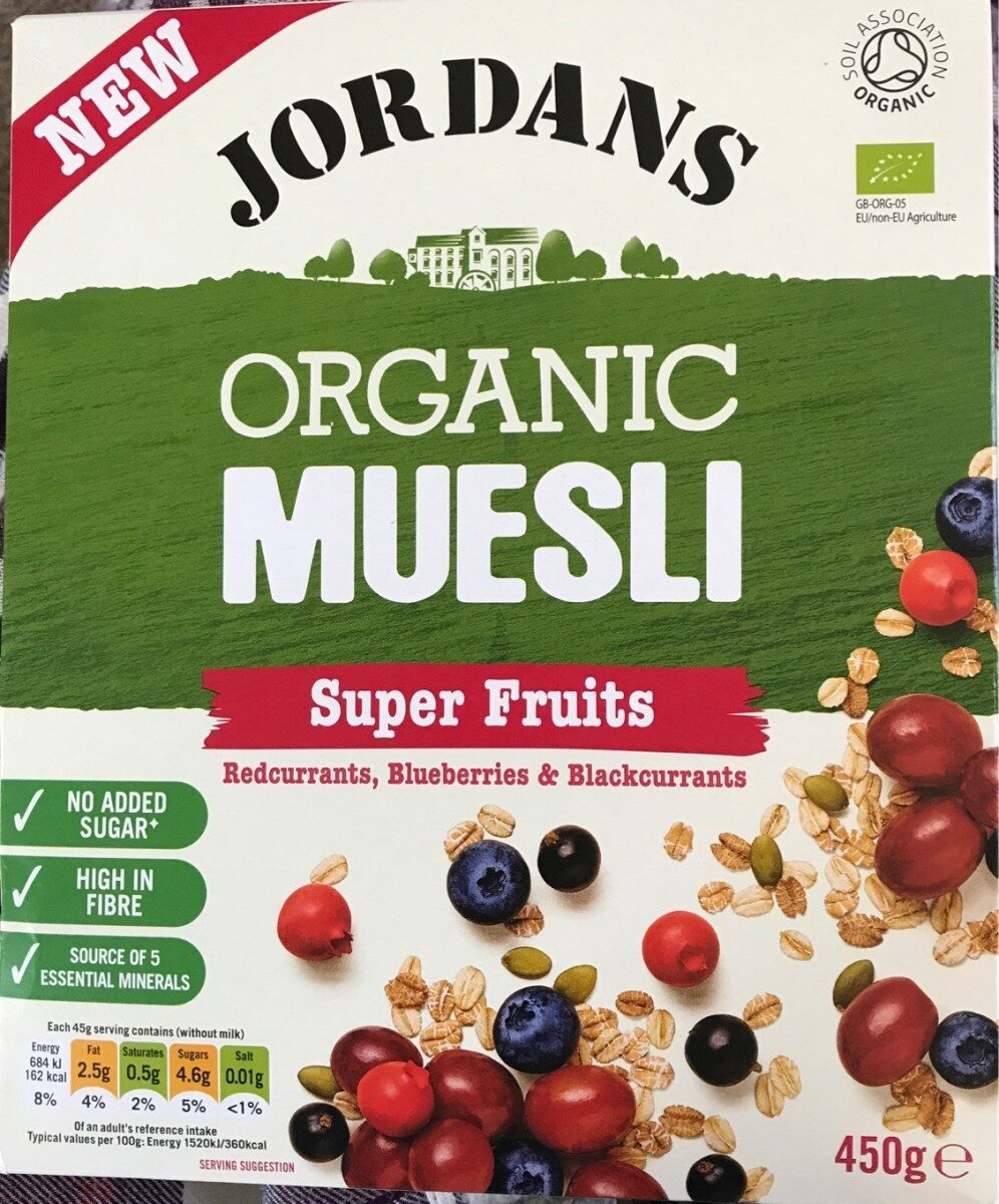 Organic Muesli Super Fruits - Product