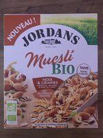 Muesli bio noix & graines - Prodotto - fr