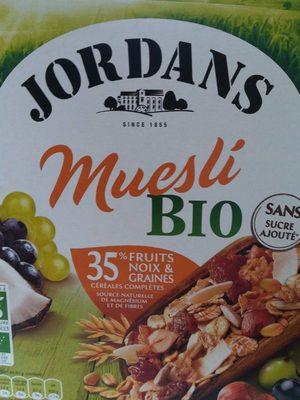 Muesli Bio - Produit - fr
