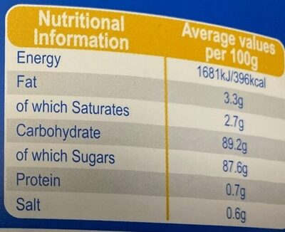 Sweet Shop Favourites - Nutrition facts - en