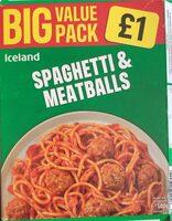 Spaghetti & meatballs - Prodotto - cs