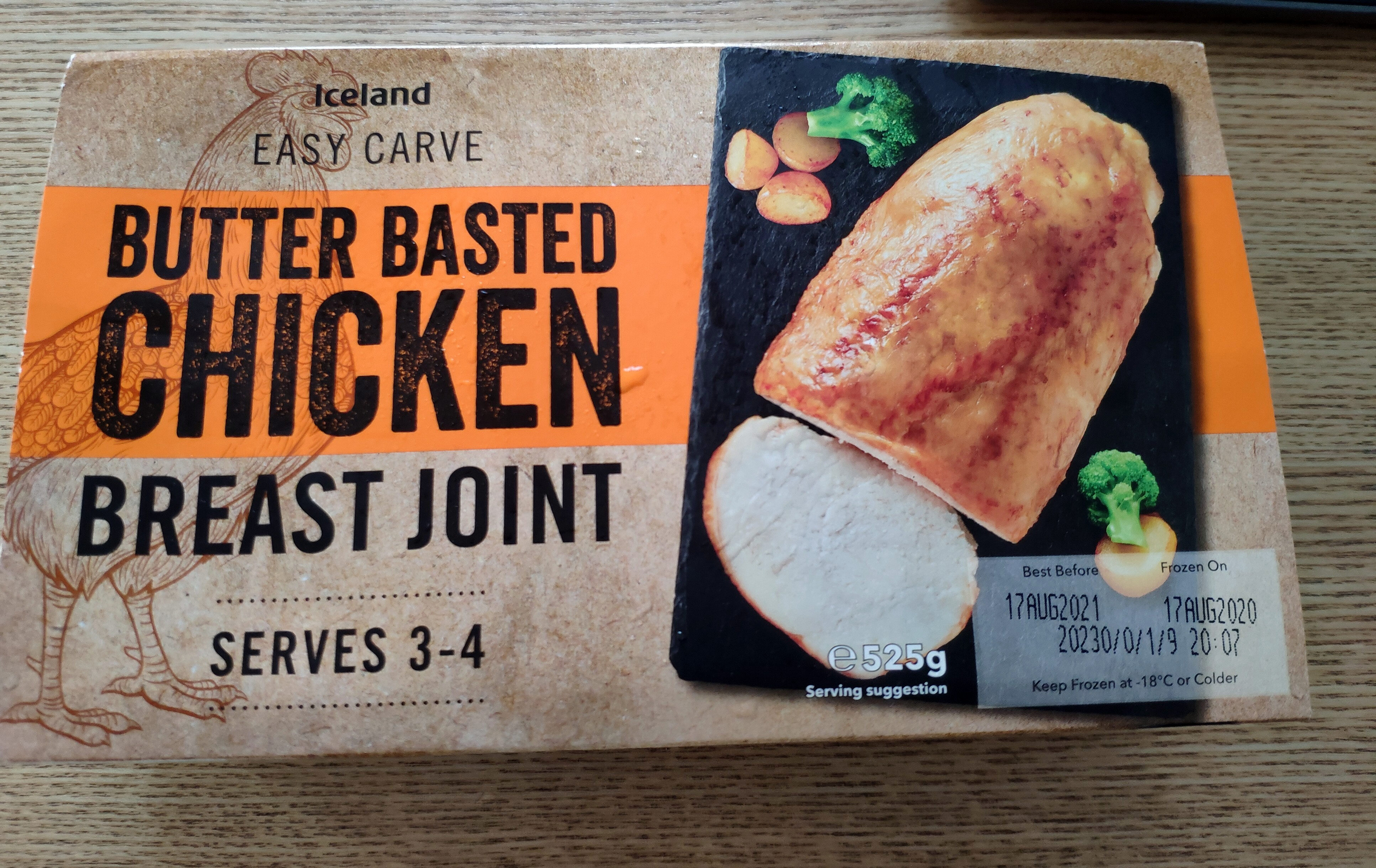 Butter Basted Chicken Breast Joint - Produit - en