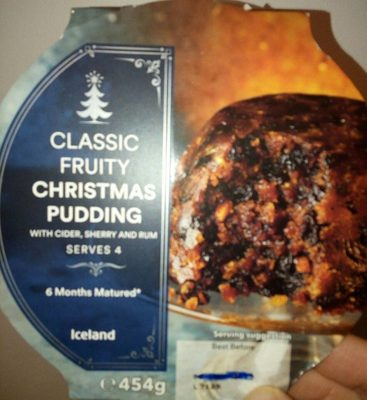 Classic Fruity Christmas Pudding - Produit - fr