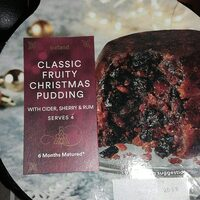 Classic Fruity Christmas Pudding - Informations nutritionnelles - en