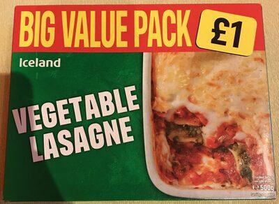 Vegetable lasagne - Product - en