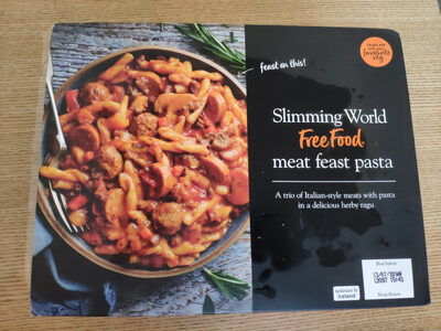 Meat feast pasta - Product