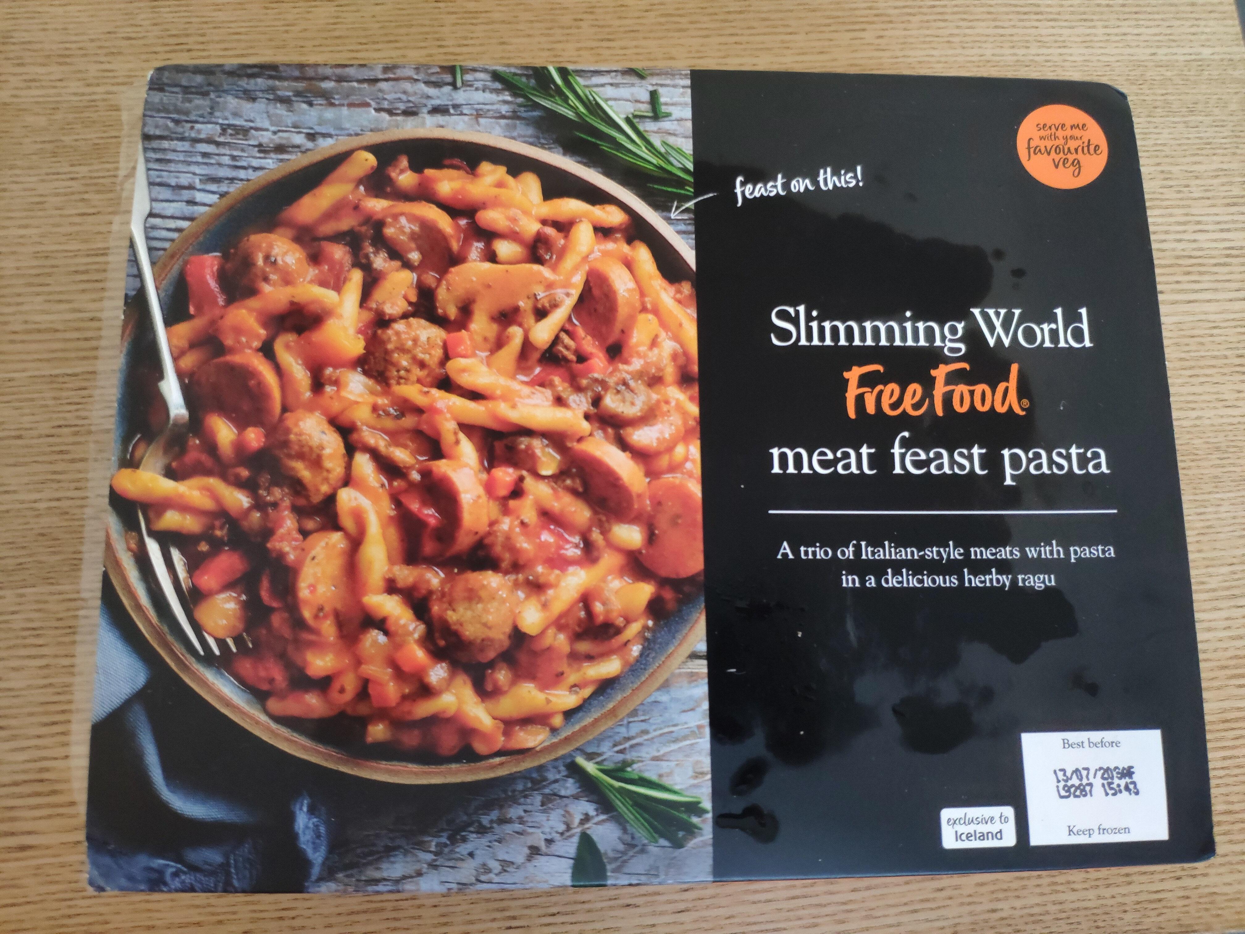Meat feast pasta - Product - en