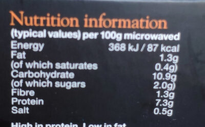 Meat feast pasta - Nutrition facts