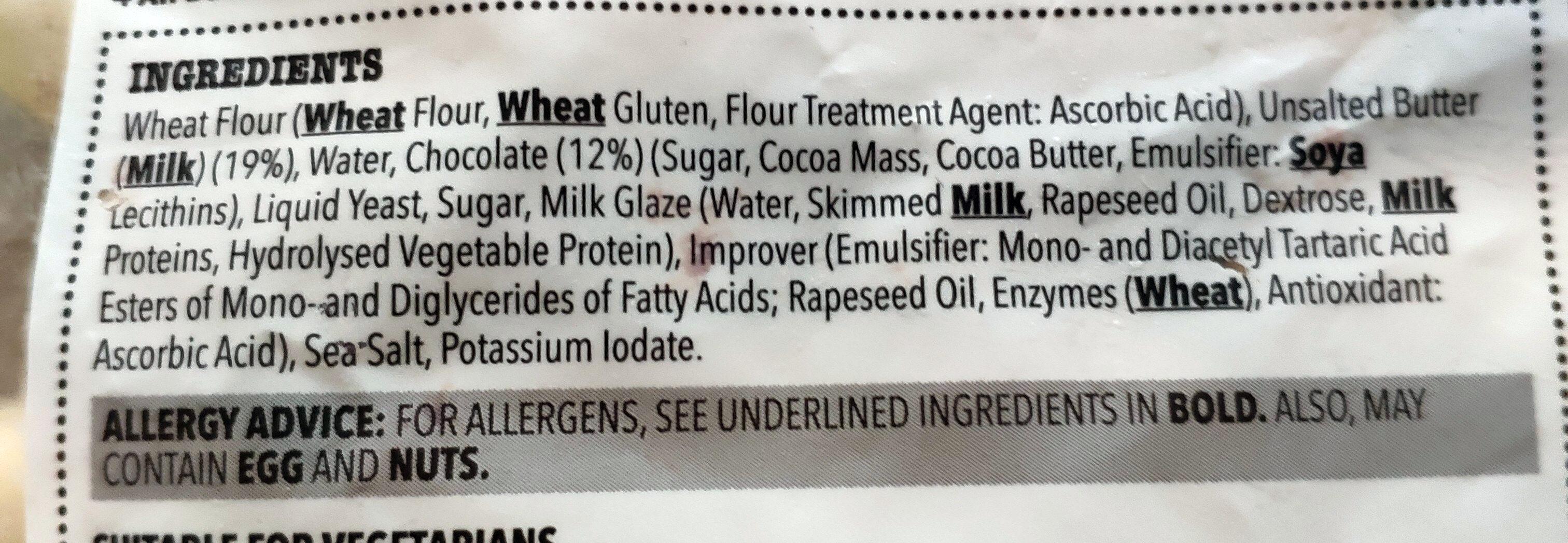All Butter Pain Au Chocolate - Ingrediënten - en