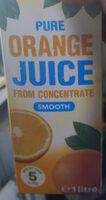 Pure Orange Juice - Produit - en