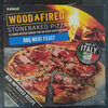 Woodfired Stonebaked BBQ Meat Feast Pizza - Product