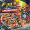 Stonebaked pizza sweet chilli chicken - Producte