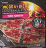 Woodfired Stonebaked Pizza Triple Pepperoni - Product