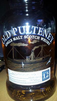 Old Pulteney Single Malt Scotch Whisky - Product