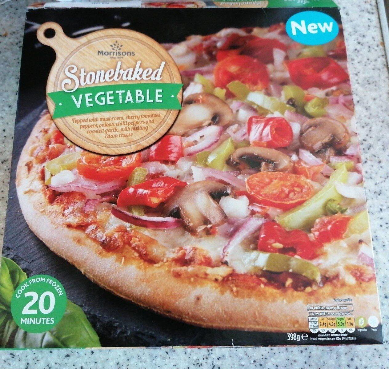Stonebaked vegetable pizza - Prodotto - en