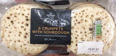 Crumpets with sourdough - Product - en
