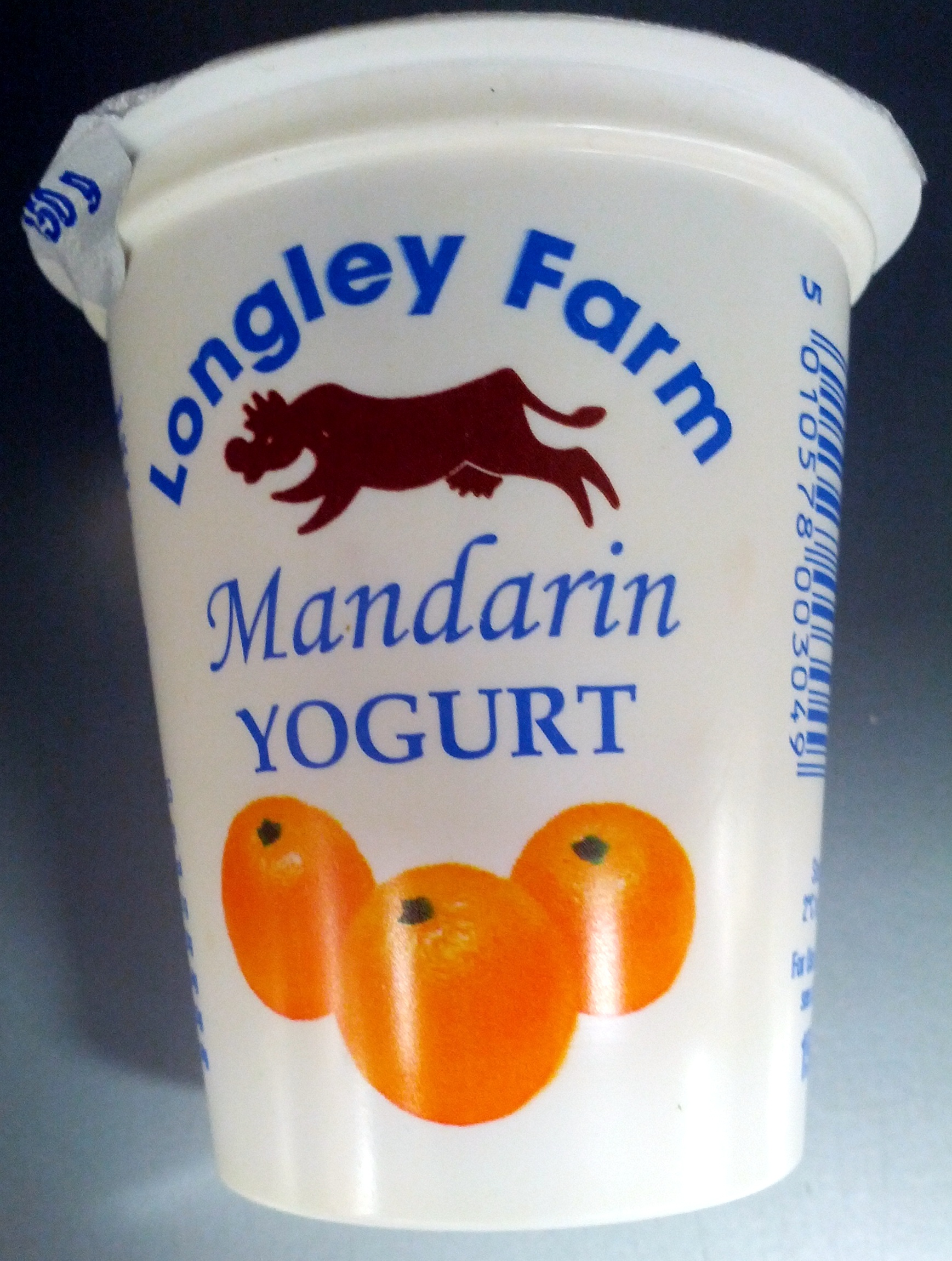 Longley farm mandarin yoghurt - Product