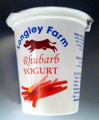 Rhubarb Yogurt - Product