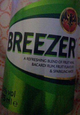 Breezer Lime - Product - fr