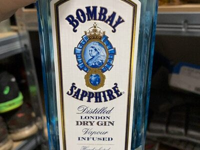 Bombay Sapphire Dry Gin - Produkt - en