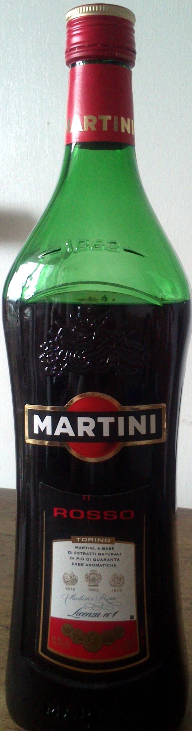 Martini Rouge - Produit