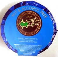 Nuts & Alcohol Free Christmas Pudding - Product - en